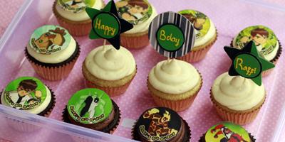 dekorasi cupcake