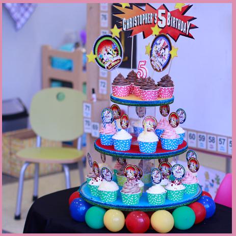 cupcake untuk ulang tahun anak