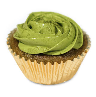 cupcake green tea