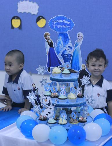 cupcake di ulang tahun
