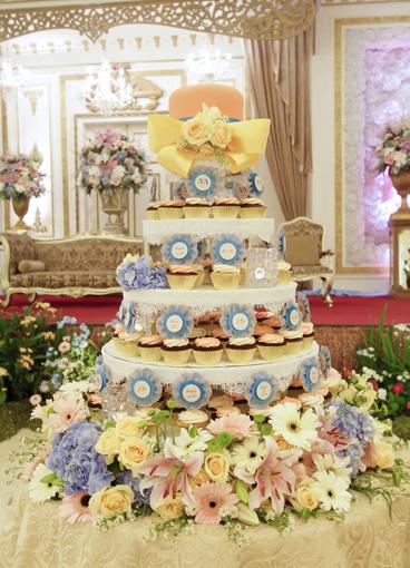 cupcake untuk pernikahan