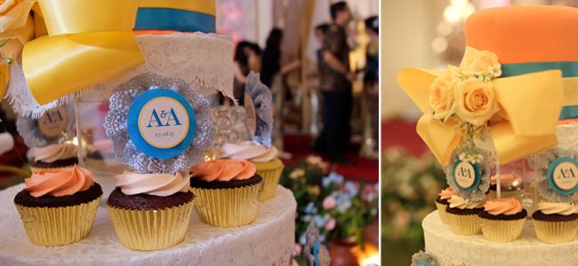 cupcake lunetta untuk pernikahan