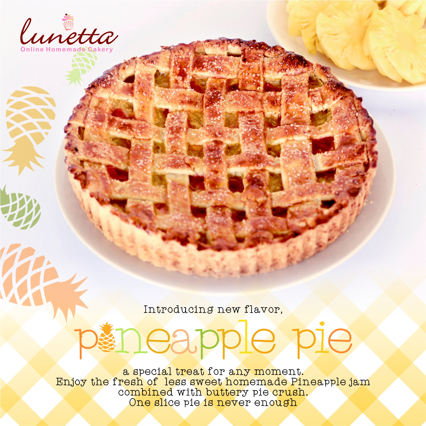 IG LUNETTA PINEAPPLE PIE