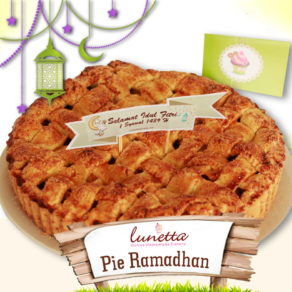 Apple Pie for Ramadhan and Idul Fitri 2018